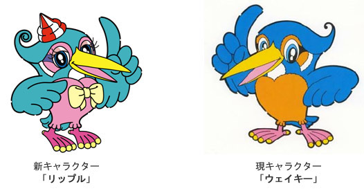 ボートレース多摩川のマスコットキャラクター:ウェイキーとリップル
