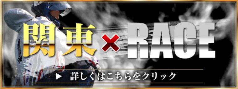 ブイマックス(V-MAX)の有料プラン「関東×RACE(関東レース)」イメージ