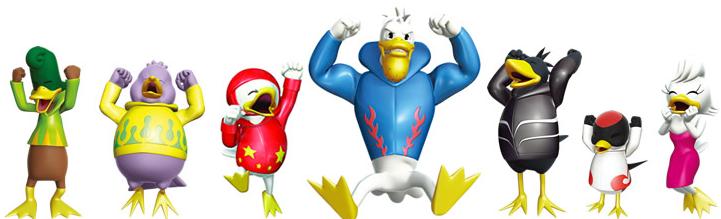 ボートレース児島(児島競艇場)のマスコットキャラクター:ガァ〜コとその仲間たち