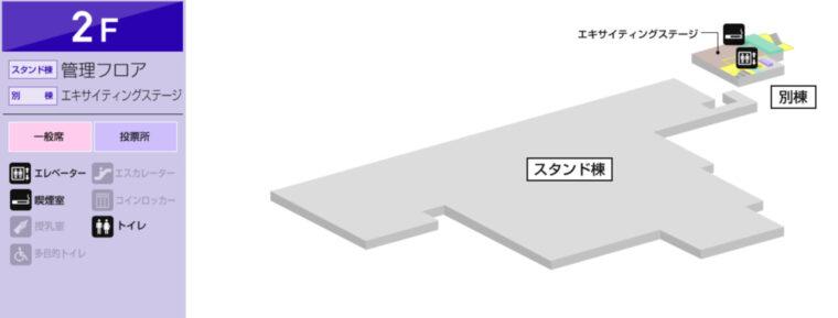 ボートレース鳴門(鳴門競艇場)の施設ガイド:2F