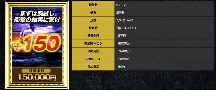 神舟の有料プラン【+150】