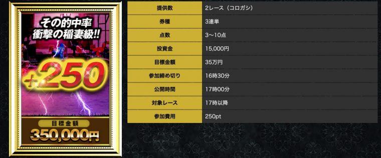 神舟の有料プラン【+250】