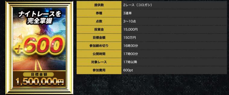 神舟の有料プラン【+600】